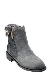 Cole Haan 'S Quinney Waterproof Bootie With Faux Shearling Trim