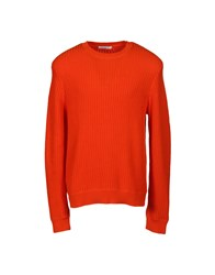 Sandro Sweaters Orange