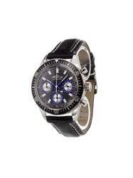 Fortis 'Marinemaster Vintage Chrono' Analog Watch Stainless Steel