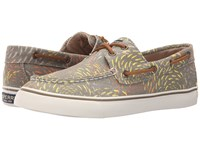 Sperry Bahama Fish Circle Taupe Women's Lace Up Casual Shoes
