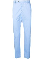 Hackett Slim Fit Chinos Blue