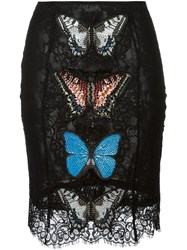 Philipp Plein 'Into The Night' Top And Skirt Set Black