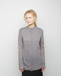 Forme D'expression Reverse Seam Pullover Light Grey