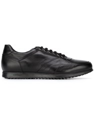 Canali Lace Up Sneakers Black