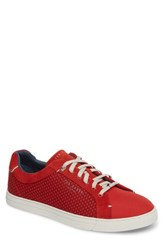Ted Baker 'S London Sarpio Sneaker Red Textile