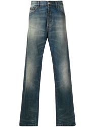 Faith Connexion Light Wash Straight Leg Jeans Blue