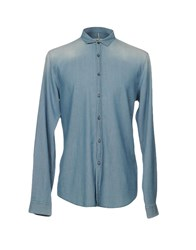 Individual Denim Shirts Blue