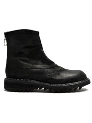 'L'eclaireur Made By Premiata' Back Zip Boots Black