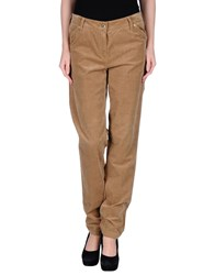 Gardeur Trousers Casual Trousers Women Khaki