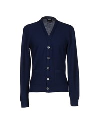 Todd Snyder Knitwear Cardigans Men Dark Blue