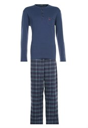Hom Monceau Pyjamas Navy Dark Blue