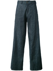 Societe Anonyme Elvis Pants Women Cotton 44 Blue