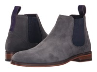 Ted Baker Camroon 4 Grey Suede Men's Pull On Boots Gray