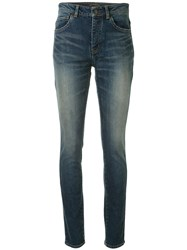 Saint Laurent Skinny Jeans Blue