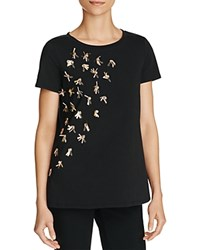 Max Mara Weekend Novak Embellished Tee Black