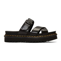 Dr. Martens Black Ryker Sandals