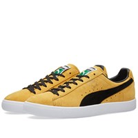 Puma Clyde Yellow