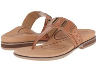 Aetrex Zara Cognac Women's Sandals Tan