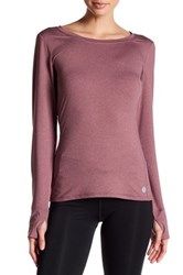 Threads For Thought Zabrina Long Sleeve Tee Red