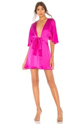Cami Nyc The Lane Dress Fuchsia