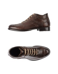 Nero Giardini Lace Up Shoes Brown