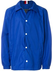 Tommy Hilfiger Ad Campaign Jacket Polyester Blue