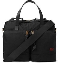 Filson Dryden Leather Trimmed Nylon Briefcase Black