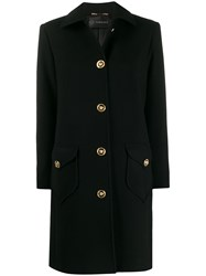 Versace Medusa Button Single Breasted Coat 60