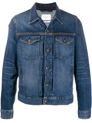 Rag And Bone Denim Trucker Jacket Blue