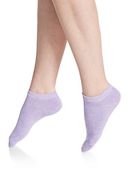 Candc California Assorted Dotted No Show Socks 6 Pack Light Pastel