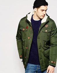 Levi's Parka Coat Sutro Thermore Long Hooded Rosin