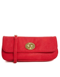 Marc B Nat Clutch Bag Red
