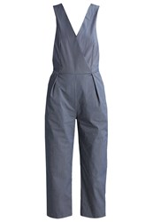 Closet Jumpsuit Navy White Blue