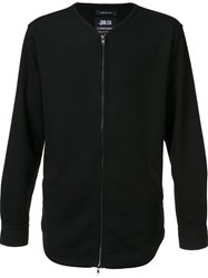 Publish Zip Through Long Sleeve Shirt Black