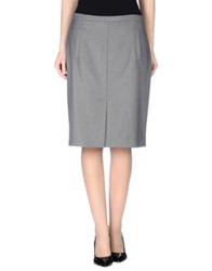 Laltramoda Knee Length Skirts Lead