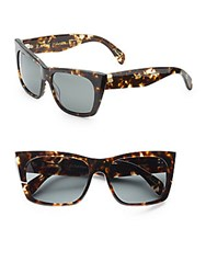 Raen 58Mm Square Tortoise Sunglasses