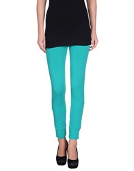 Kangra Cashmere Trousers Leggings Women Green