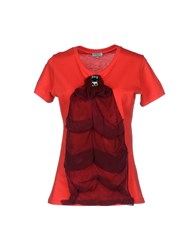 Macri Topwear T Shirts Women Red