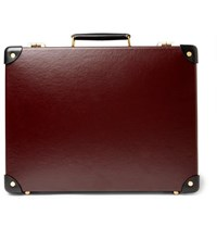 Globe Trotter Centenary 16 Slim Attache Briefcase Burgundy