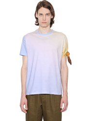 J.W.Anderson Single Knot Gradient Cotton T Shirt