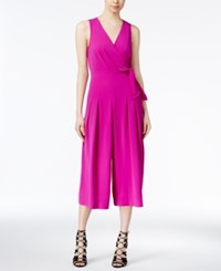 Rachel Roy Side Tie Gaucho Jumpsuit Only At Macy's Orchid