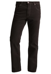 Bugatti Nevada Straight Leg Jeans Braun Brown