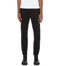 Tiger Of Sweden Cuffed Stretch Cotton Trousers Black