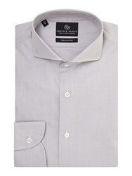 Chester Barrie Richard Contemporary Fit Shirt Grey