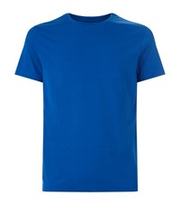 Derek Rose Basel Relaxed T Shirt Male Blue