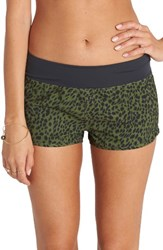 Billabong Women's Wild One Print Volley Shorts
