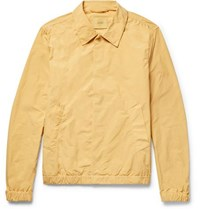 Saturdays Surf Nyc Cooper Brushed Shell Coach Jacket Yellow