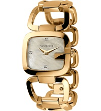 Ya125513 G Gucci Collection Yellow Gold Pvd Watch Pearl