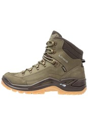 Lowa Renegade Gtx Walking Boots Forest Dunkelbraun Dark Green
