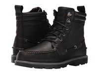 Sperry A O Lug Waterproof Boot Black Men's Lace Up Boots
